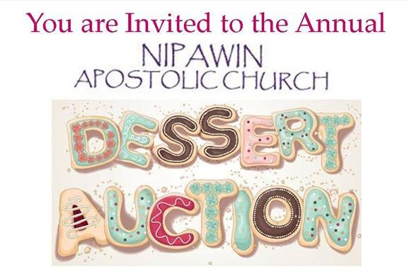 Dessert Auction - Nipawin Apostolic Church
