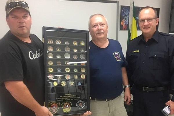 Nipawin Fire Department honoured