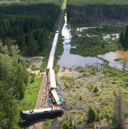 Image: Transportation Safety Board of Canada (TSB)