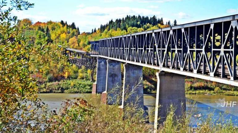 Nipawin News old nipawin bridge