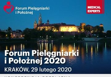 Serdecznie zapraszamy do udziału w konferencjach z cykluFORUM PIELĘGNIARKI I POŁOŻNEJ 2020