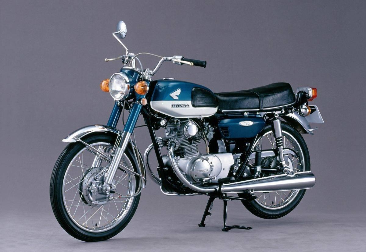 hight resolution of 1974 erschien die honda cb 125 k b6 mit neuem design und mechan scheibenbremse vorn quelle honda motor co