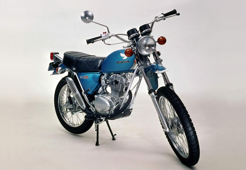 hight resolution of honda sl 125 s aus dem jahr 1979 quelle honda motor co