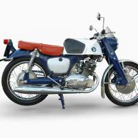 Honda CB 92 Super Sport - die flotte Rennfeile