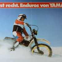 Yamaha XT 500 Prospekt 1981 - Jetzt erst recht. Enduros von Yamaha.