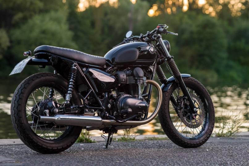 Kawasaki W800 Black Edition 2015 Idée Dimage De Moto