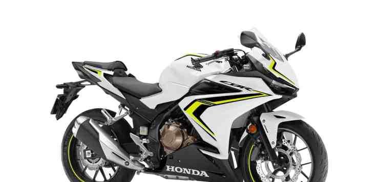 Honda CBR 500R in Pearl Metalloid White