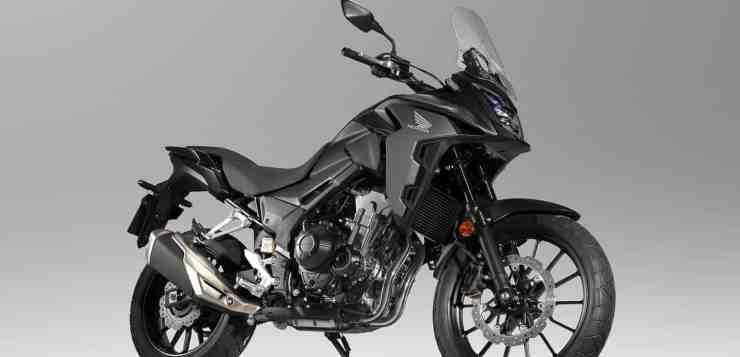 Das universelle Motorrad-Multitalent CB 500X überarbeitet für 2019