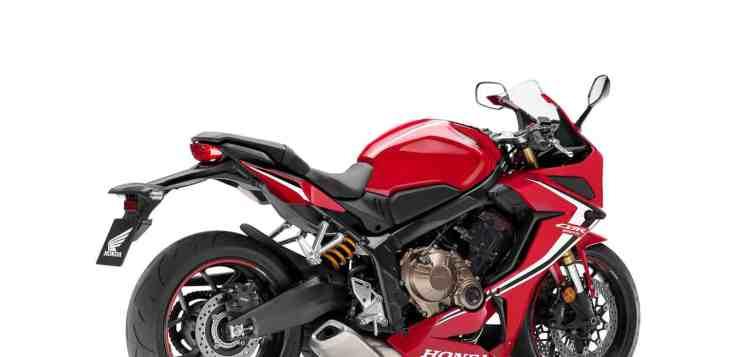 Honda CBR650R wiegt sechs Kilogramm weniger als die Vorgängerin