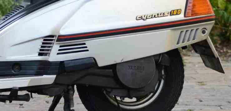 Mit der Variomatik betrat Yamaha beim XC 180 Neuland