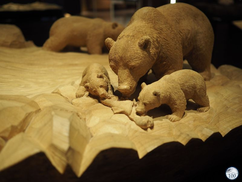 Bears woodcraft