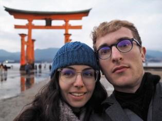 Miyajima and the torii.