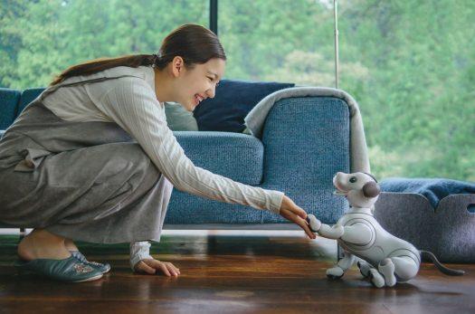 الروبوت الكلب آيبو من شركة سوني