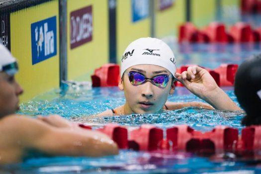 السباحة الرياضية اليابانية ريكاكو إيكي