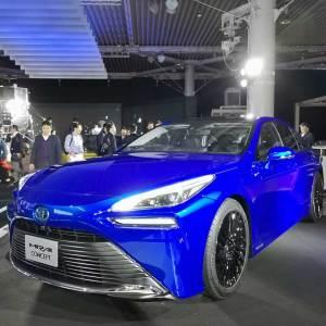 تويوتا ميراي الجديدة سيتم طرحها بالأسواق في عام 2021