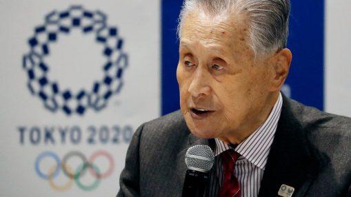 يوشيرو موري رئيس اللجنة المنظمة لألعاب طوكيو الأولمبية | عبر وكالة أي أف بي