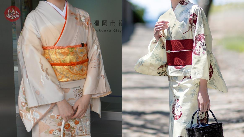 الفرق بين الكيمونو واليوكاتا (الأزياء التقليدية في اليابان)