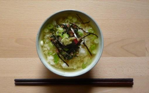 OCHAZUKE – Reis im grünen Tee