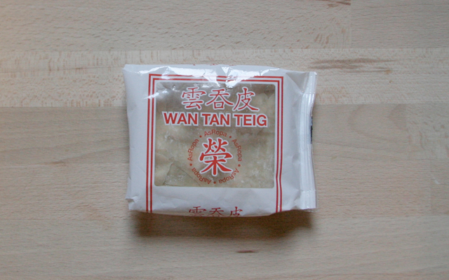 WANTAN NO KAWA - Wantan Teig