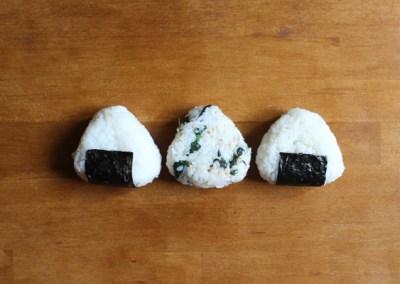 ONIGIRI – 御握り Reisbällchen