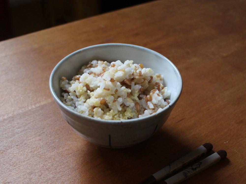 ZAKKOKUMAI - Reis mit Getreide