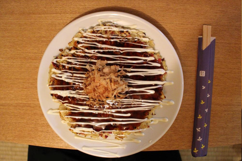 Hanage - Klassisches Okonomiyaki mit Bacon