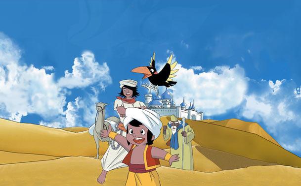 Zum 40. Geburtstag von Sindbad: Neuer Anime