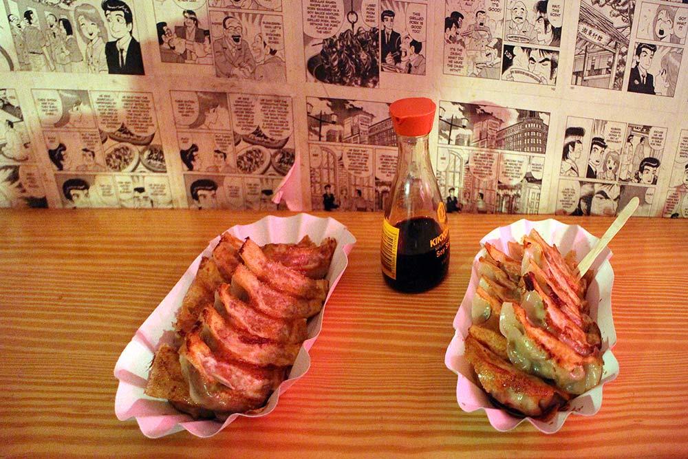 Yume Chicken Gyouza und Veggie Gyouza