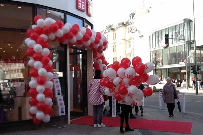 Uniqlo – 4. Filiale in der Schloßstraße – Eröffnung 24. März 2017