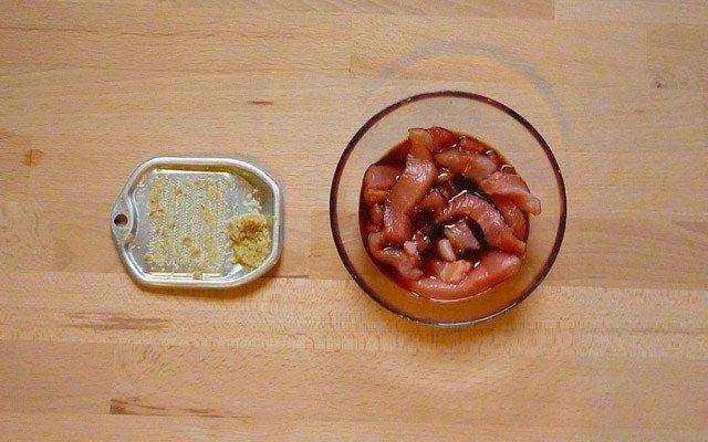 BUTA NO SHOGAYAKI - Schweinefleisch mit Ingwersauce