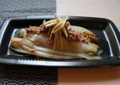 CHIKORI NO TSUNA NI – Chicoree mit Thunfisch