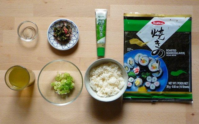 OCHAZUKE - Reis im grünen Tee