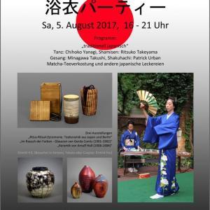 Yukata-Party Keramik-Museum Berlin