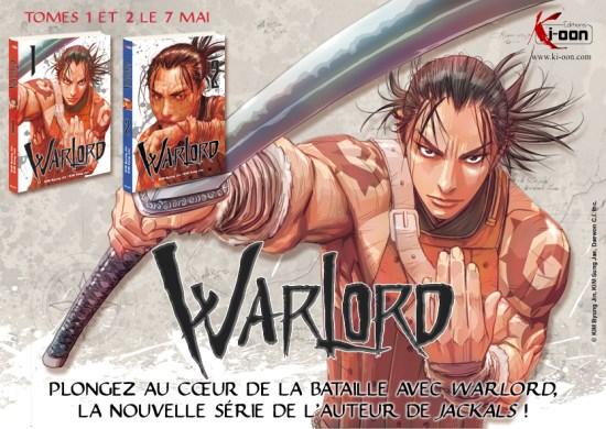 Actu Manga, Byung-Jin Kim, Ki-oon, Manga, Manhua, Sung-jae Kim, Warlord,
