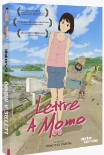 Actu Ciné, Arte éditions, Blu-ray, Cinéma, DVD, Lettre à Momo,