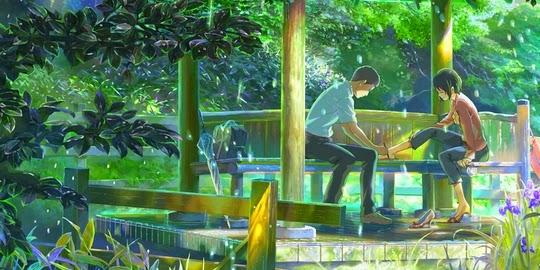 The Garden of Words, Actu Manga, Manga, Roman, Actu Roman, Midori Motohashi, Makoto Shinkai, Kazé Manga,