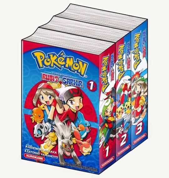 Pokémon - La Grande Aventure : Rubis et Saphir, Kurokawa, Manga, Actu Manga, Hidenori Kusaka, Satoshi Yamamoto,