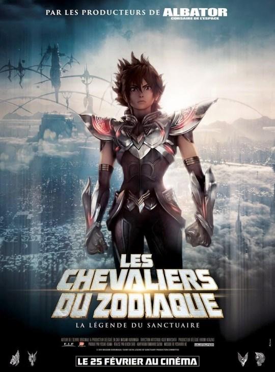 Les Chevaliers du Zodiaque : La Bataille du Sanctuaire, Actu Ciné, Cinéma, Masami Kurumada,