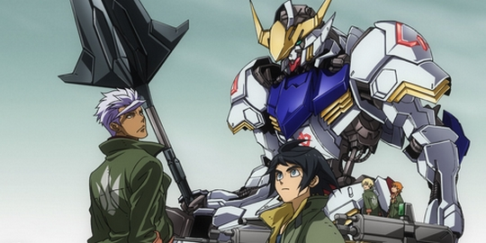 Mobile Suit Gundam : Iron-Blooded Orphans, Sunrise, Actu Japanime, Japanime, Manga, Actu Manga, Gundam Ace,