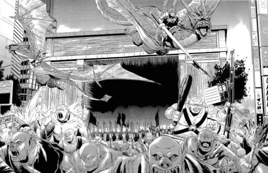 Actu Manga, Critique Manga, Gate - Au-delà de la Porte, Manga, Ototo, Seinen, Shonen,