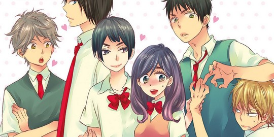 Critique Manga, Delcourt, Kiss Him Not Me, Manga, Shojo, Tonkam,