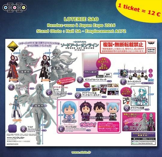 Actu Manga, Gate - Au-delà de la Porte, Japan Expo 2016, Manga, Ototo, Re:Monster, Seinen, Shonen, Sword Art Online,
