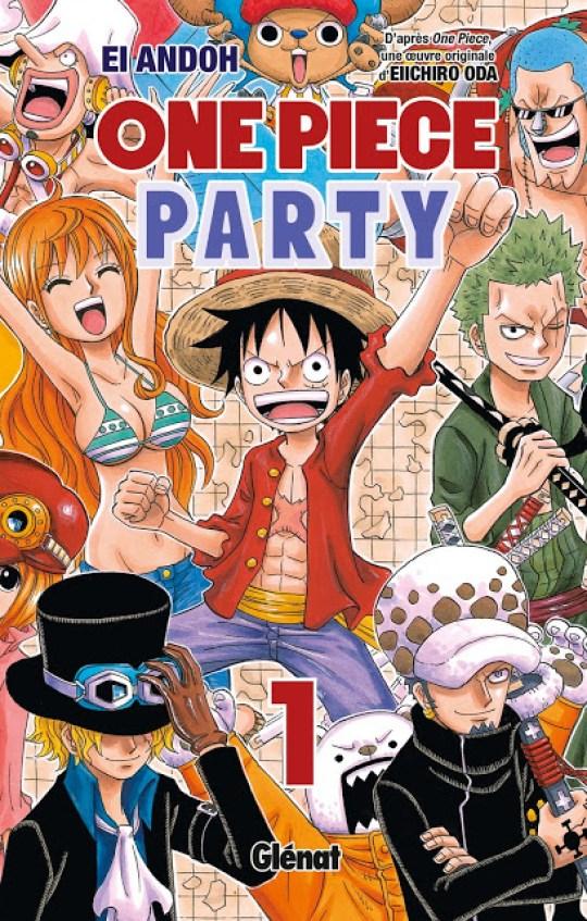 One Piece Party, Manga, Actu Manga, Glénat, Ei Ando, Saikyo Jump, Shueisha,