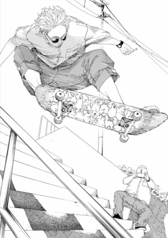 Actu Manga, Critique Manga, Kana, Manga, Shonen, SK8R'S,