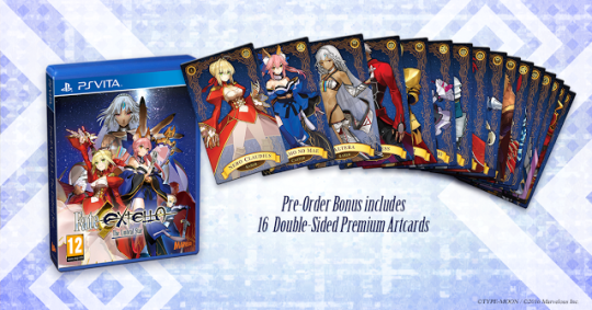 Collector, Fate/EXTELLA: The Umbral Star, Marvelous Europe, Playstation 4, Playstation Vita, PQube, Rice Digital,