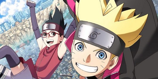 Boruto : Naruto Next Generations, Actu Japanime, Japanime, Weekly Shonen Jump, Studio Pierrot,
