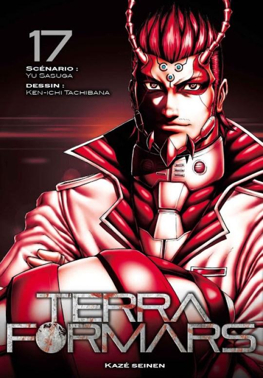 Terra Formars, Manga, Actu Manga, Shueisha, Weekly Young Jump, Kazé Manga,