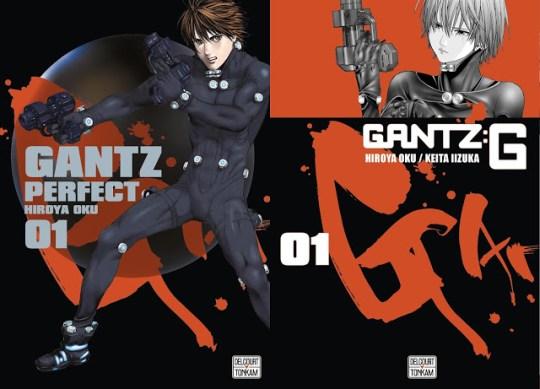 Gantz Perfect, Gantz:G, Manga, Actu Manga, Delcourt / Tonkam,