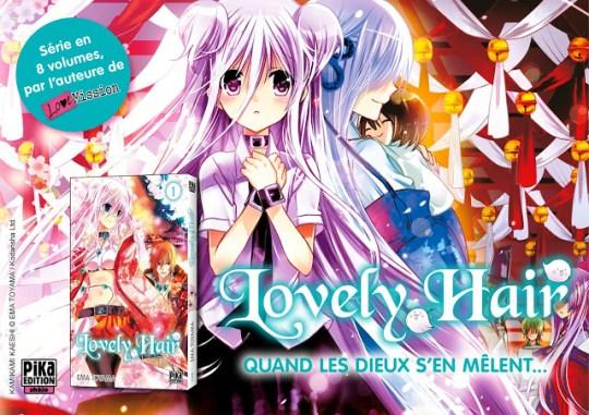 Actu Manga, Ema Toyama, Lovely Hair, Manga, Pika Edition,
