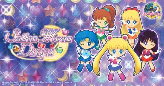 Actu Jeux Video, Android, Bandai Namco Games, iOS, Sailor Moon Drops, Smartphone,